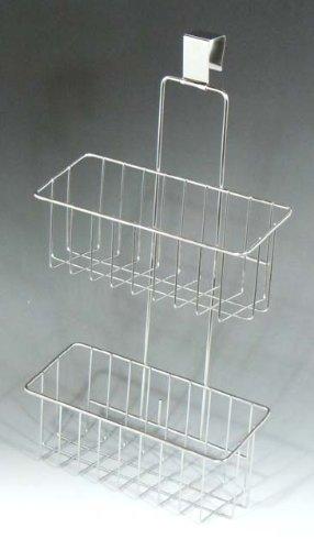 RoomClip商品情報 - 18-8ステンレス スマートハング フリーバスケット 2段 ( シンク扉に引っ掛けるだけ ) 日本製