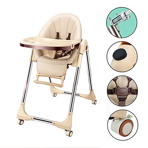 プレミアムベビーチェア 昇降機能付き 赤ちゃん用 多機能 ハイチェア 安全ベルト 脱出防止 (6ヶ月から6才)