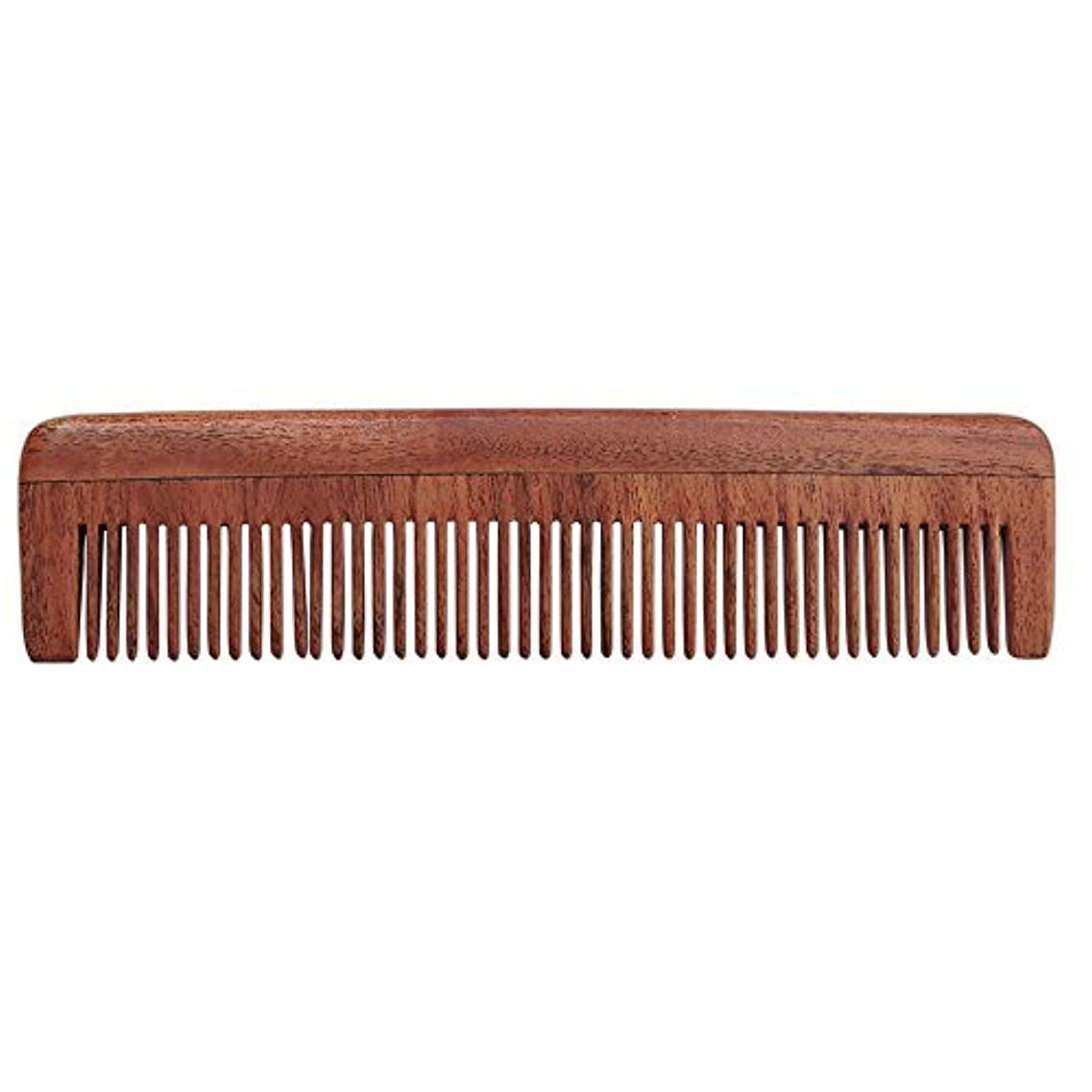 HealthGoodsIn - Pure Neem Wood Fine Tooth Comb for Fine Hair | Fine Tooth Neem Comb | Organic and Natural for...