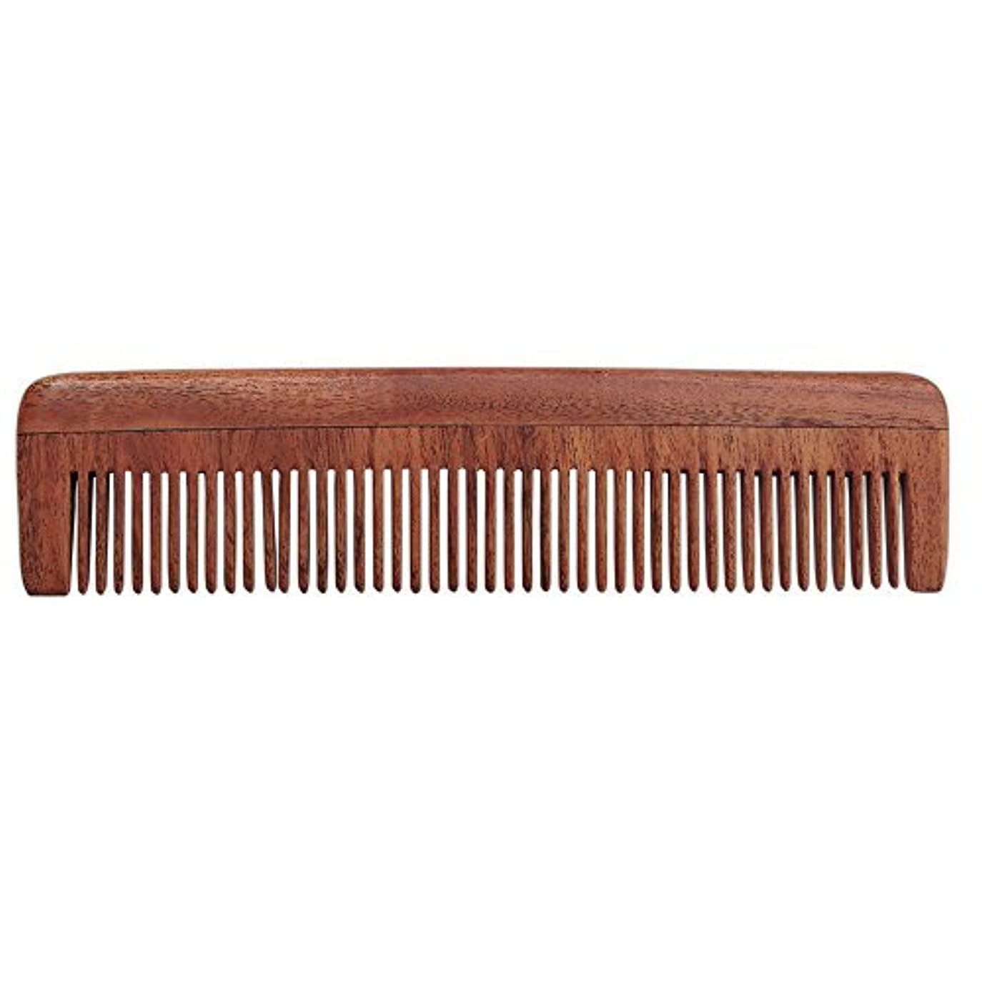 絞る過度に出血HealthGoodsIn - Pure Neem Wood Fine Tooth Comb for Fine Hair | Fine Tooth Neem Comb | Organic and Natural for...