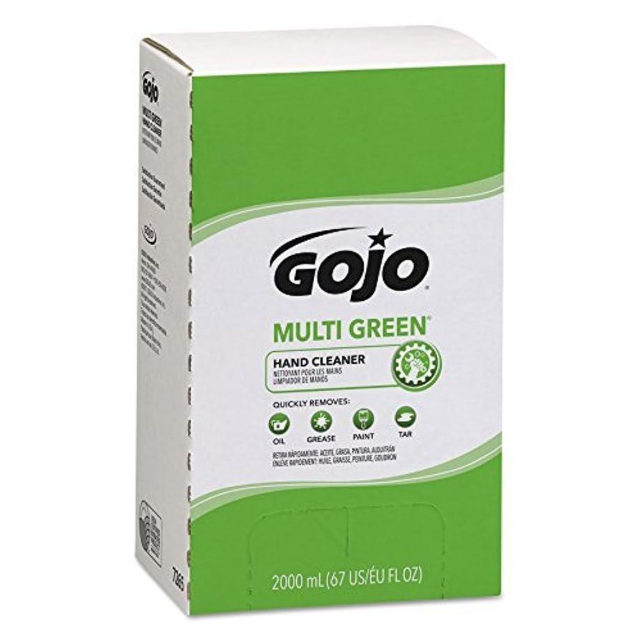 修羅場サンダースリズムGOJO MULTI GREEN Hand Cleaner Gel,Natural Citrus Solvent,2000 mL BioPreferred Certified Hand Cleaner Refill for...