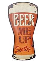 アメリカン ブリキ看板/45cm BEER/ビール(KS/DITISIBE)ティンサイン/メタルサイン 看板 ガレージ ドリンク 雑貨 アメリカン雑貨 アメリカ雑貨 看板