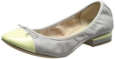 [クラークス] Clarks Ditsy Dress 26108278 Stone Combi Leather (ストーンコンビレザー/030)
