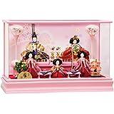 雛人形 五月 小芥子五人 アクリルケース飾り ひな人形 ケース飾り 平安豊久 HNH-333549 HD-152