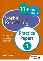 11+ Verbal Reasoning Practice Papers 1 (Hodd04  13 06 2019)