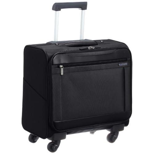 [ワールドトラベラー] World Traveler ワールドトラベラー ライリー 横型ビジネスキャリーケース 34cm 43491 01 (ブラック)