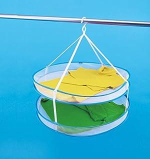 ダイヤ 折り畳み いろいろ物干しネット・2段