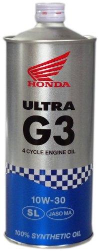 Honda(ホンダ) 2輪用エンジンオイル ウルトラ G3 SL 10W-30 4サイクル用 1L 08234-99961 [HTRC3]