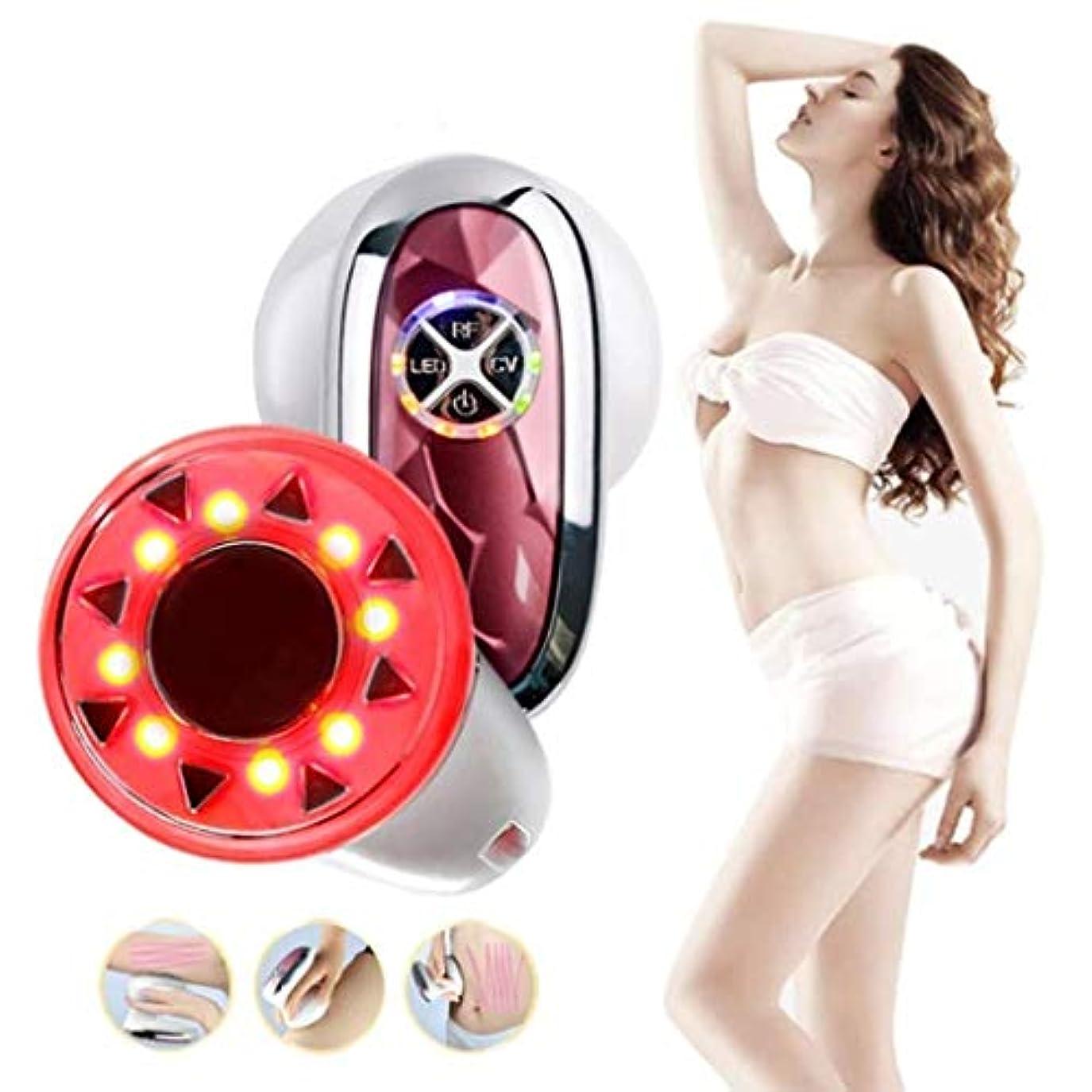 団結する薄いチャンピオンシップ電気減量機、4-1 - ラジオ周波数マッサージ器、体の腹部、腰、脚、お尻、ボディマッサージ器、スキンケア機器