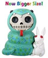 3.5 Inch Furry Bones Stevie In Anaconda Suit with Pet Rabbit Figurine by YTC