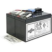 スーパーナット UPS用バッテリーキット RBC48L-S■RBC48L 互換■APC Smart UPS750(SUA750JB)用 RBC48L-S