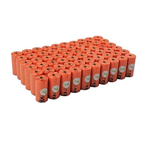 エヌ ペット PET N PET うんち袋 エチケットパック ペット 犬 猫適用 うんち取り ゴミ袋 オレンジ 50ロール 33×23cm 1080枚入り