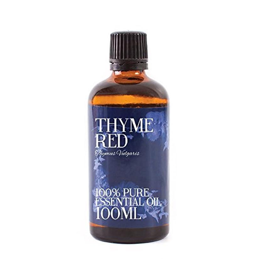 セットする十代の若者たちするMystic Moments   Thyme Red Essential Oil - 100ml - 100% Pure