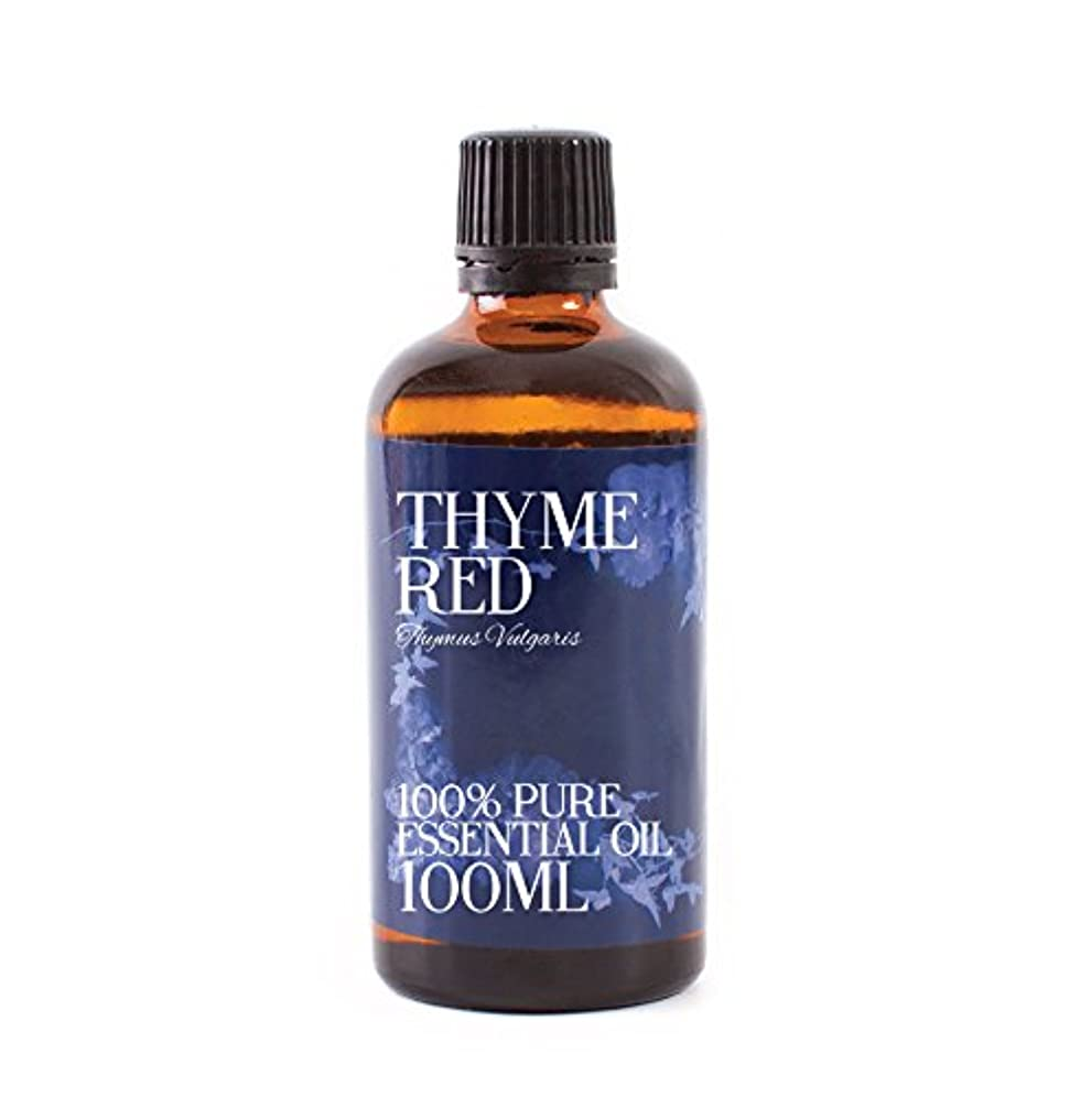 助言するダイヤモンドキノコMystic Moments | Thyme Red Essential Oil - 100ml - 100% Pure