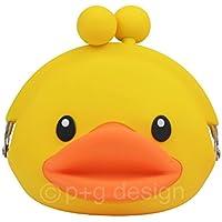 (ピージーデザイン) p+g design がまぐち ダック 3D POCHI FRIENDS DUCK-Yellow【1990】