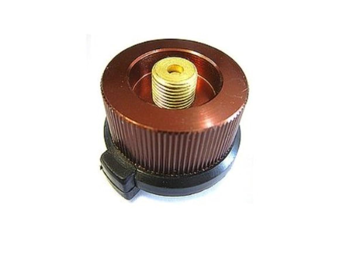 自慢効率的緊張するカセットガスアダプター カセットボンベ を アウトドア用ガス器具 に接続できる