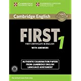 Cambridge English First 1 for Revised Exam from 2015 Student's Book Pack (Student's Book with Answers and Audio CDs (2)): Aut