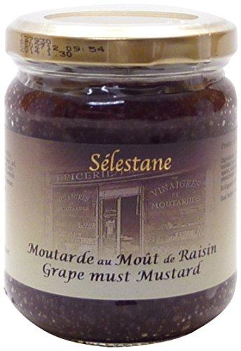 セレスタンヌ 種入りマスタード(ぶどうの濃縮果汁入) 200g