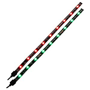 サイズ PCケース装飾用LEDアクセサリ LEDイルミナシオン 発色切替リモコン付属 LED ILLUMINACION