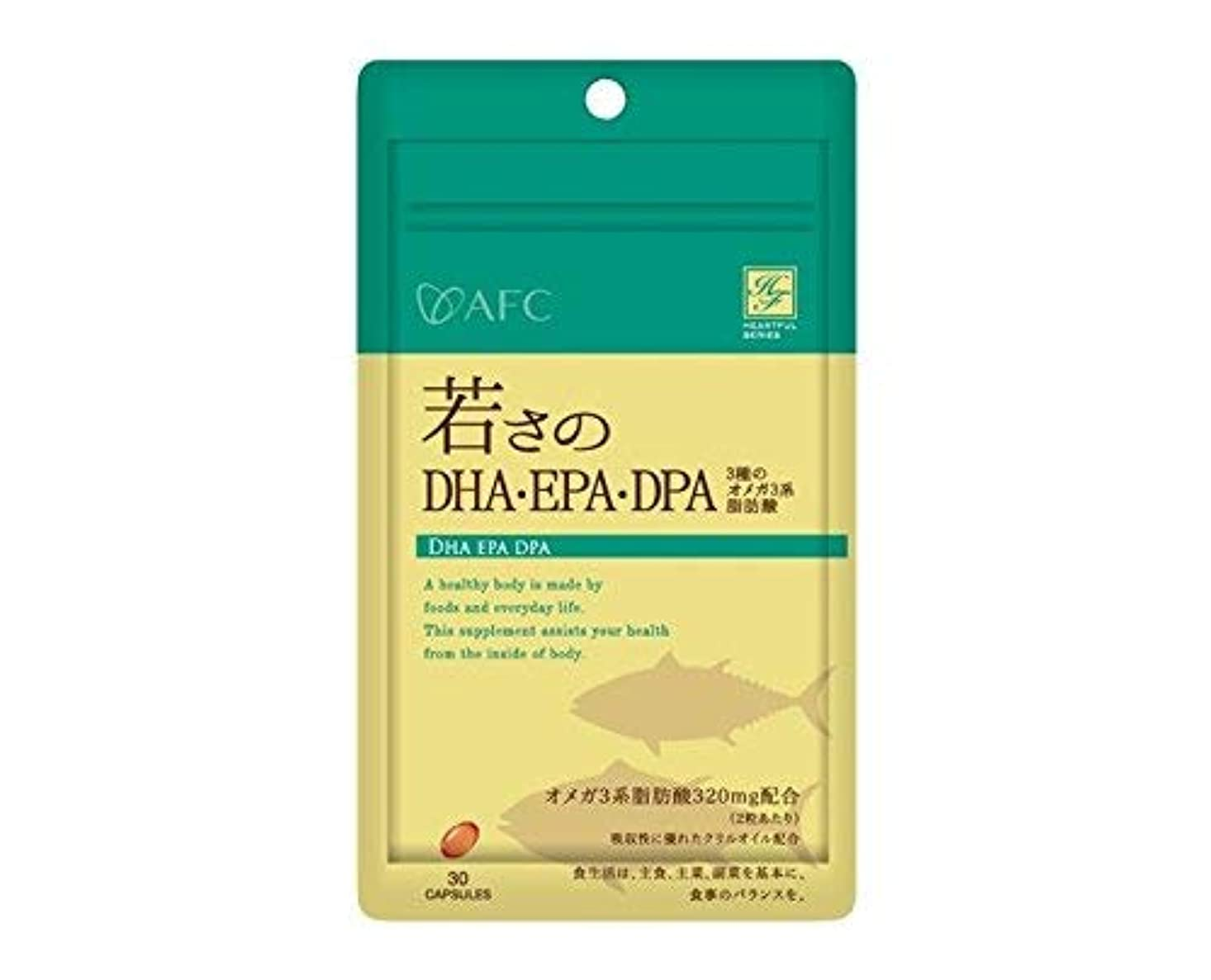 ボトル古くなった痛みエーエフシー ハートフル 若さのDHA?EPA?DPA30粒 × 6個セット