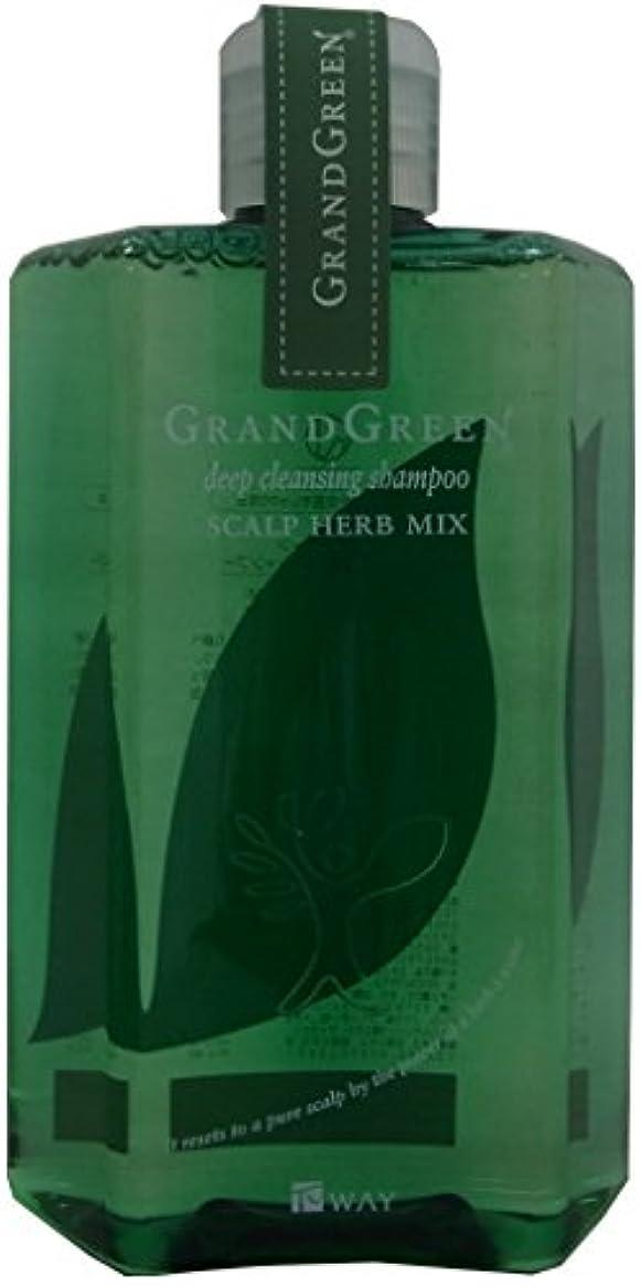かんがい高さ絡み合いグラングリーン ディープクレンジングシャンプー 280ml