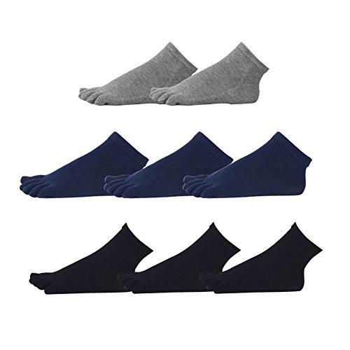 五本指ソックス メンズ ビジネス 紳士 ソックス 消臭 通気性抜群 吸汗 メンズ 五本指 靴下 男性用 8足組 男性用AYSWZW01-02