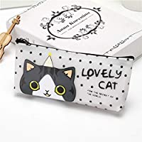 Pencil Case Pencil Bag Cat Cartoon Pencil Case Kawaii Pencil Box For Kids Girls Gift School Supplies Korean Stationery