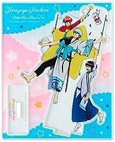 ●スタンドYorozuya Ginchan 銀魂×サンリオ アクリルマスコットプレート 坂田銀時ストラップキーホルダー系●
