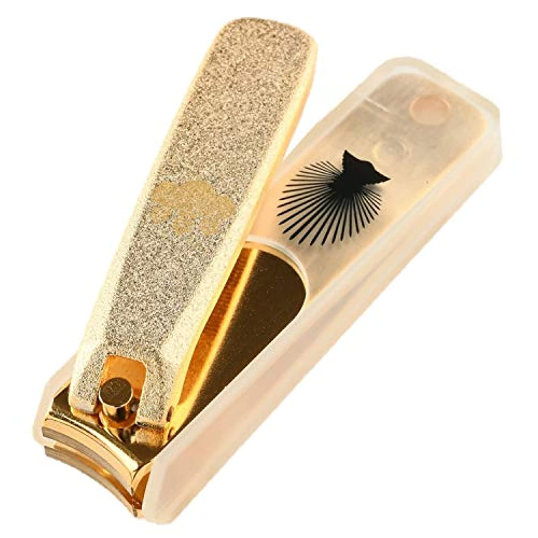 非効率的な少し見習いNIKKEN ニッケン刃物 関伝の美 武将爪切り 豊臣秀吉モデル ゴールド NL-18H