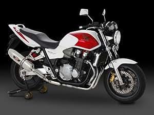 ヨシムラ(YOSHIMURA) バイクマフラー スリップオン R-77J サイクロン EXPORT SPEC 政府認証 SMS メタル マジックカバー/ステンレスエンド CB1300SF[SC54] (08-11) CB1300SB[SC54](08-11) 110-477-5V20 バイク オートバイ