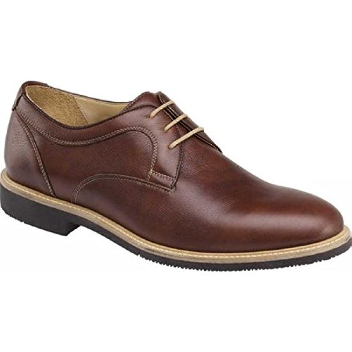 政治的厚さ持続的(ジョンストン&マーフィー) Johnston & Murphy メンズ シューズ?靴 革靴?ビジネスシューズ Barlow Plain Toe Oxford [並行輸入品]