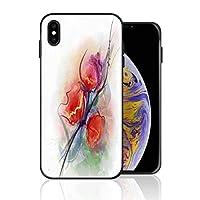 iPhone XR 携帯ケース 柔らかい 花柄 水彩 ケース 最新製品 防塵 軽量 薄型 擦り傷防止 耐衝撃 全機種対応 スマホ用 ソフトケース 防塵 シリコン 人気 バンパーケース スリム設計 携帯カバー