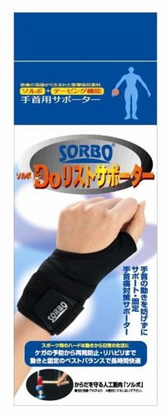 方法論可能孤児ソルボDo(ソルボドゥ)リストサポーター ブラック 63506?S(左手用)