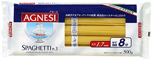アネージ スパゲッティー 1.7mm 結束タイプ(500g)