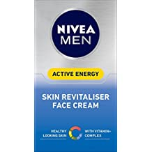 NIVEA MEN Active Energy Skin Revitiliser Moisturising Face Cream, 50ml