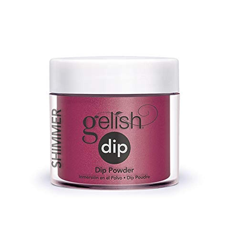 カストディアンモノグラフ懲戒Harmony Gelish - Acrylic Dip Powder - What's Your Pointsettia? - 23g / 0.8oz