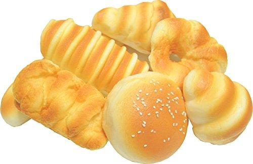 ふっくら パン 食品 サンプル 詰め合わせ 装飾 (バリエーション A)