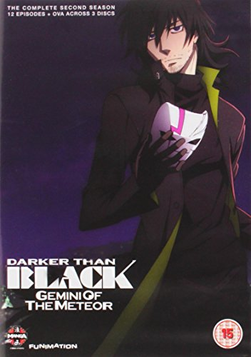 DARKER THAN BLACK -流星の双子- コンプリート DVD-BOX (全12話+OVA外伝全4話, 390分) アニメ [DVD] [Import]