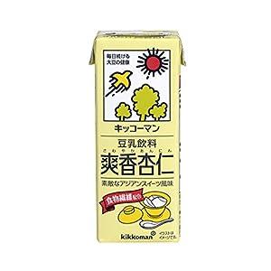 キッコーマン飲料 豆乳飲料 爽香杏仁 200ml×18本