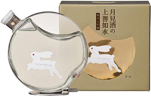 白瀧酒造 月見酒の上善如水 純米大吟醸 瓶 箱入 500ml
