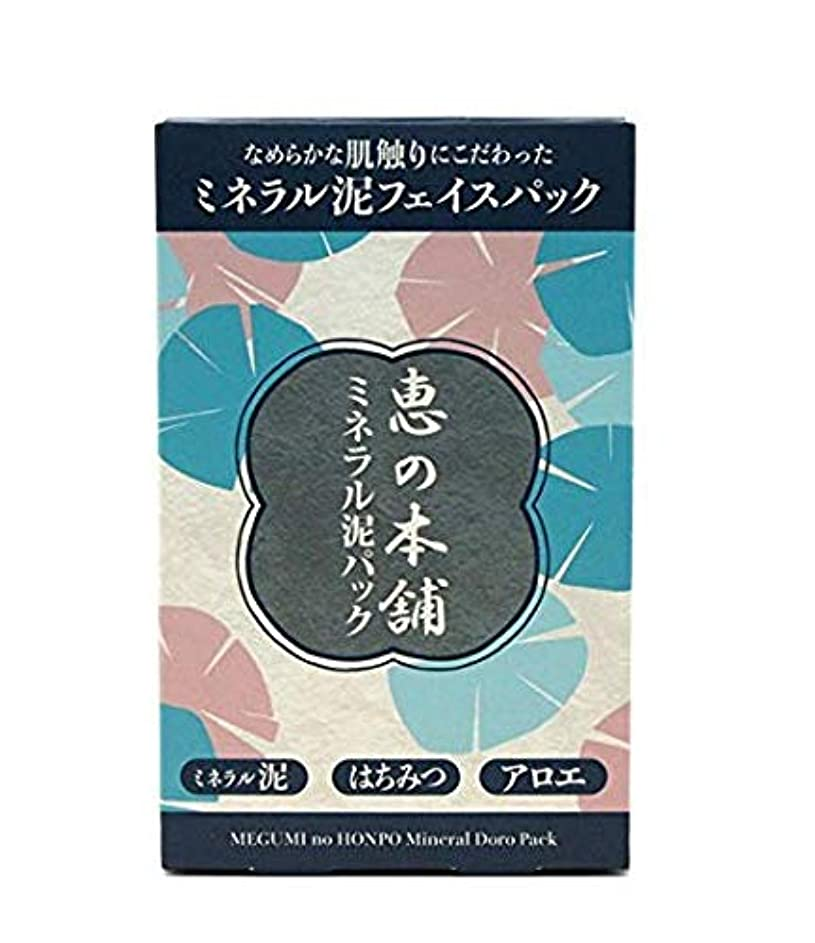 セッション雑種解釈【10個セット】恵の本舗 ミネラル泥パック 100g