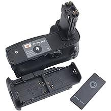 DSTE Pro Wireless Remote Control BG-E20 Vertical Battery Grip for Canon EOS 5D Mark IV 5D4 Camera as LP-E6 LP-E6N