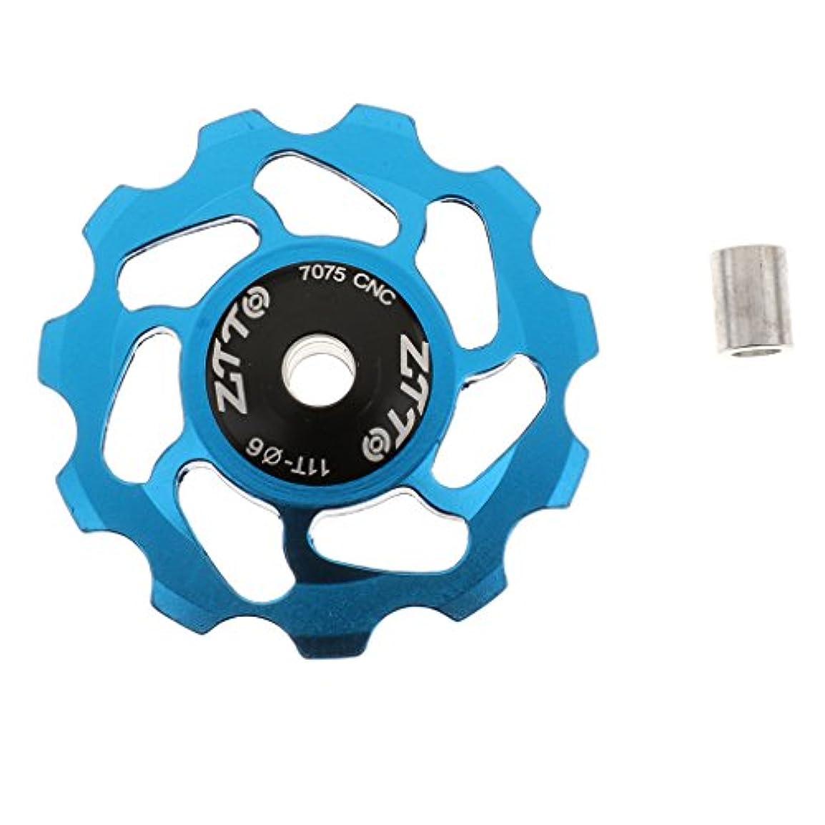 正統派離れたできればFlameer 自転車プーリーホイール ボルト ジョッキー 11T  MTB ベアリング プーリー ローラ リアディレイラー 自転車パーツ 便利  全5色