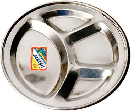 【お皿を変えれば料理の味も変わります】カレーの味を格段に引き立てる 本場インドのカレー皿【ステンレス製】ランチプレート