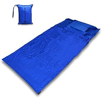 The Friendly Swede 北欧スウェーデンデザイン キャンプ・アウトドア 寝袋 インナーシュラフ 携帯キャリーバッグ付き