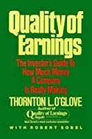 Quality of Earnings by Thornton L. O'glove(1998-10-01)