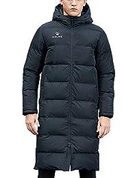 KELME 冬のシーズンアウトドアコート メンズサッカートレーニング ロング綿服コート