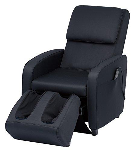 スライヴ マッサージチェア くつろぎ指定席 【SFIT エスフィット】 「つかみもみ機能搭載」 ファブリックブラック CHD-7401(FK)