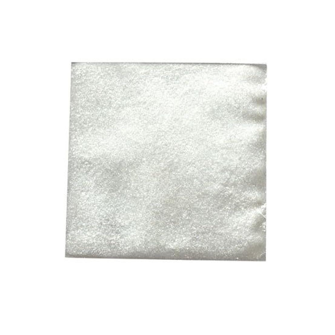 資産ピック海嶺ピカエース ネイル用パウダー ピカエース シャインダスト #461 ミラーホワイト 0.5g アート材