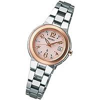 ルキア(ウオッチ)(LUKIA) レディース時計(チタン電波ソーラーウォッチ【型番:SSQW016】)【ピンク/1サイズ】
